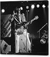 Chuck Berry At The North Sea Jazz Festival 1987 Canvas Print