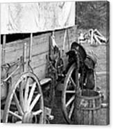 Chuck Wagon - Bw 02 Canvas Print