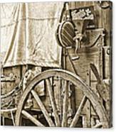 Chuck Wagon Canvas Print