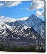 Chugach Mountain Range Canvas Print