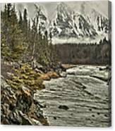 Chugach Range Canvas Print