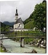 Church - Pfarrkirche St. Sebastian Canvas Print