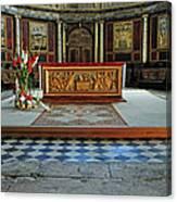 Church Alter Provence France Canvas Print