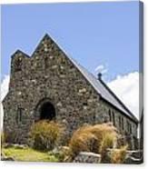 Church At Lake Tekapo Canvas Print