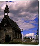 Church At The Okeefe Ranch Canvas Print