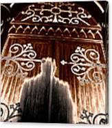 Church Aura Canvas Print