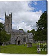 Church Avebury Uk 2 Canvas Print
