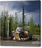 Church Beaver Creek Yukon Canvas Print