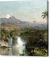 Church: Cotopaxi, 1857 Canvas Print