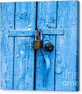 Church Door Blues Canvas Print