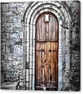 Church Door Killala Ireland Canvas Print
