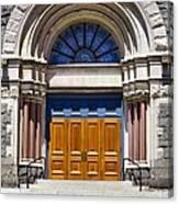 Church Doors Canvas Print