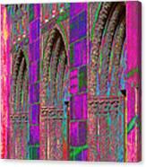 Church Doors Pop Art Canvas Print