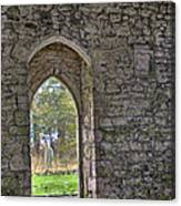 Church Doorway Canvas Print
