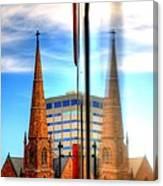 Church Downtown Denver 5074 Canvas Print