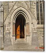 Church Entrance Canvas Print