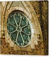 Church Glass Canvas Print