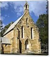Church In Berrima A Town In Regional New South Wales Australia Canvas Print