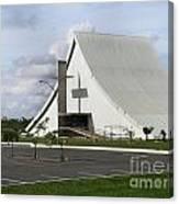 Church In Brazilia Canvas Print