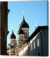 Church In Estonia Canvas Print