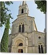 Church In Gordes Canvas Print