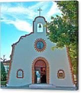 Church In San Carlos-sonora Canvas Print