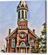 Church In Sprague Washington 2 Canvas Print