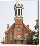 Church In Sprague Washington Canvas Print