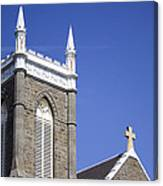 Church In Tacoma Washington 4 Canvas Print