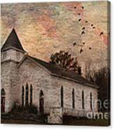 Church In The Catskills Canvas Print