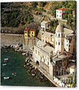 Church In Vernazza  Canvas Print