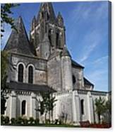 Church - Loches - France Canvas Print