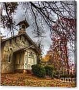 Church Of Autumn Canvas Print