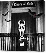Church Of Goth Canvas Print