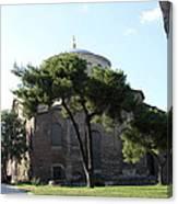 Church Of Hagia Eirene I - First Courtyard Topkapi Palace Canvas Print