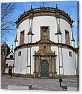 Church Of Monastery Of Serra Do Pilar In Portugal Canvas Print