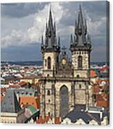 Church Of Our Lady Before Tyn - Prague Canvas Print