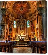 Church Of Saint Agnes Canvas Print