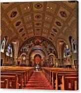 Church Of Saint Bernard Canvas Print