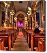 Church Of Saint Louis Canvas Print