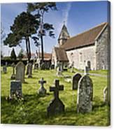 Church Of St John The Evangelist - Kenn - North Somerset Canvas Print