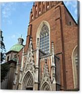 Church Of The Holy Trinity In Krakow Canvas Print
