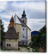Church Of The Mother Of God Canvas Print