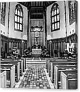 Church Of The Nativity Canvas Print