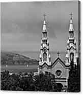 Church On The Bay Canvas Print