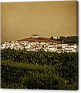 Church On The Hill - Andalusia Canvas Print