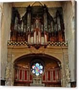 Church Organ Canvas Print