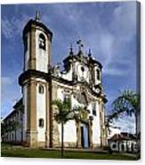Church Ouro Preto Brazil 5 Canvas Print