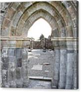 Church Portal Canvas Print