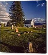 Church Potlatch Idaho 1 Canvas Print